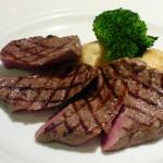 ランチ 肉料理