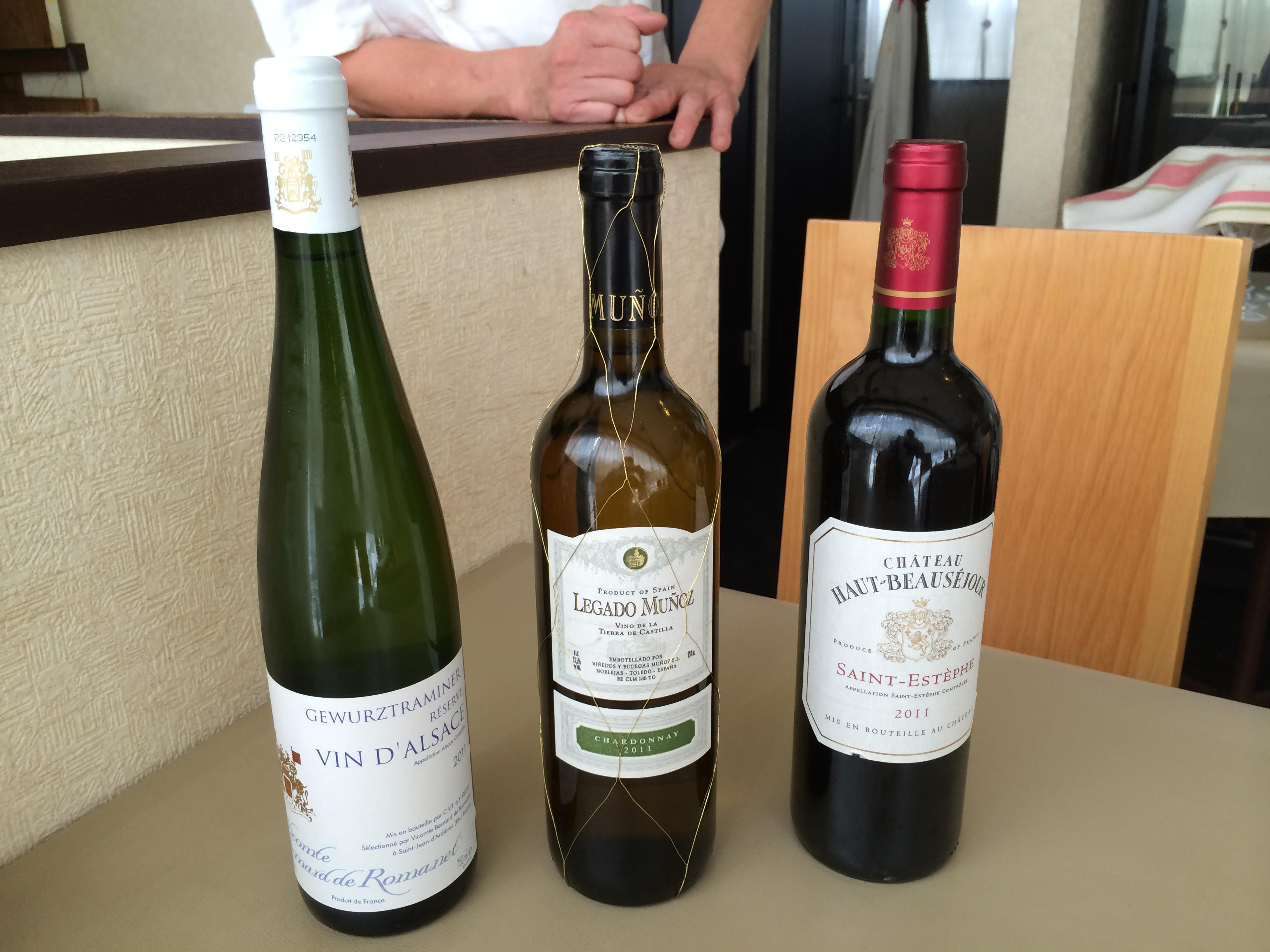 8月の新着ワイン