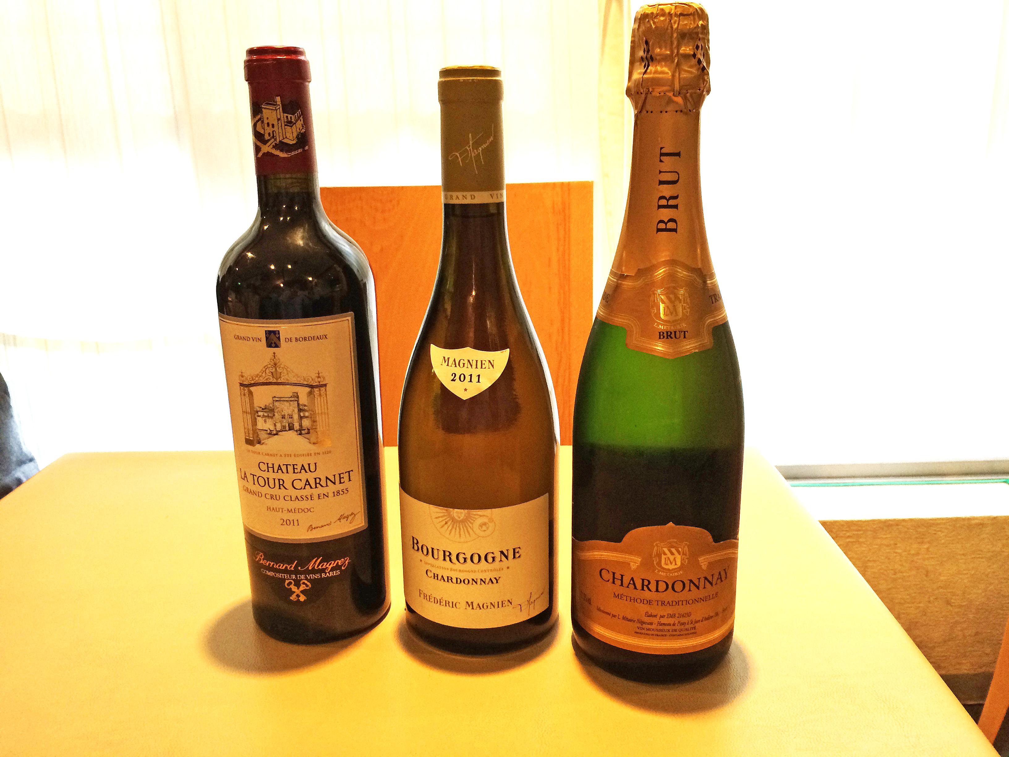 1月のワイン